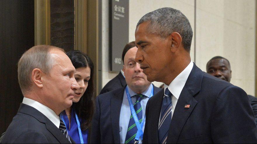 Путин и Обама обсудили ситуацию в Сирии