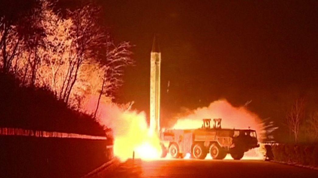 Северокорейские баллистические ракеты упали в экономической зоне Японии