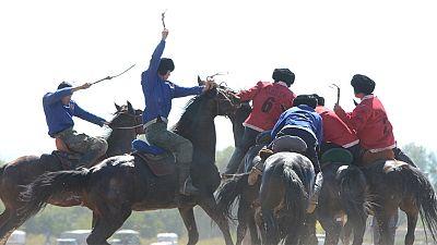 II Juegos del Mundo Nómada en Kirguistán