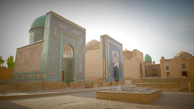 Postcards from Uzbekistan: the Shakhi Zinda memorial complex