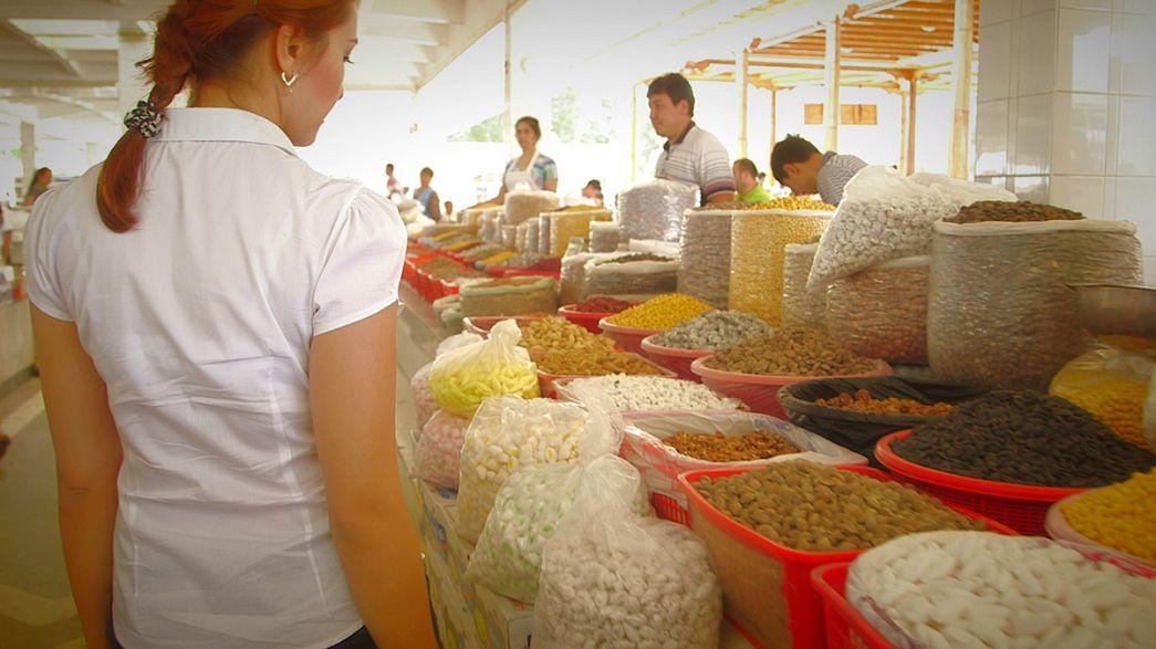 Postcards from Uzbekistan: the Siab Bazaar