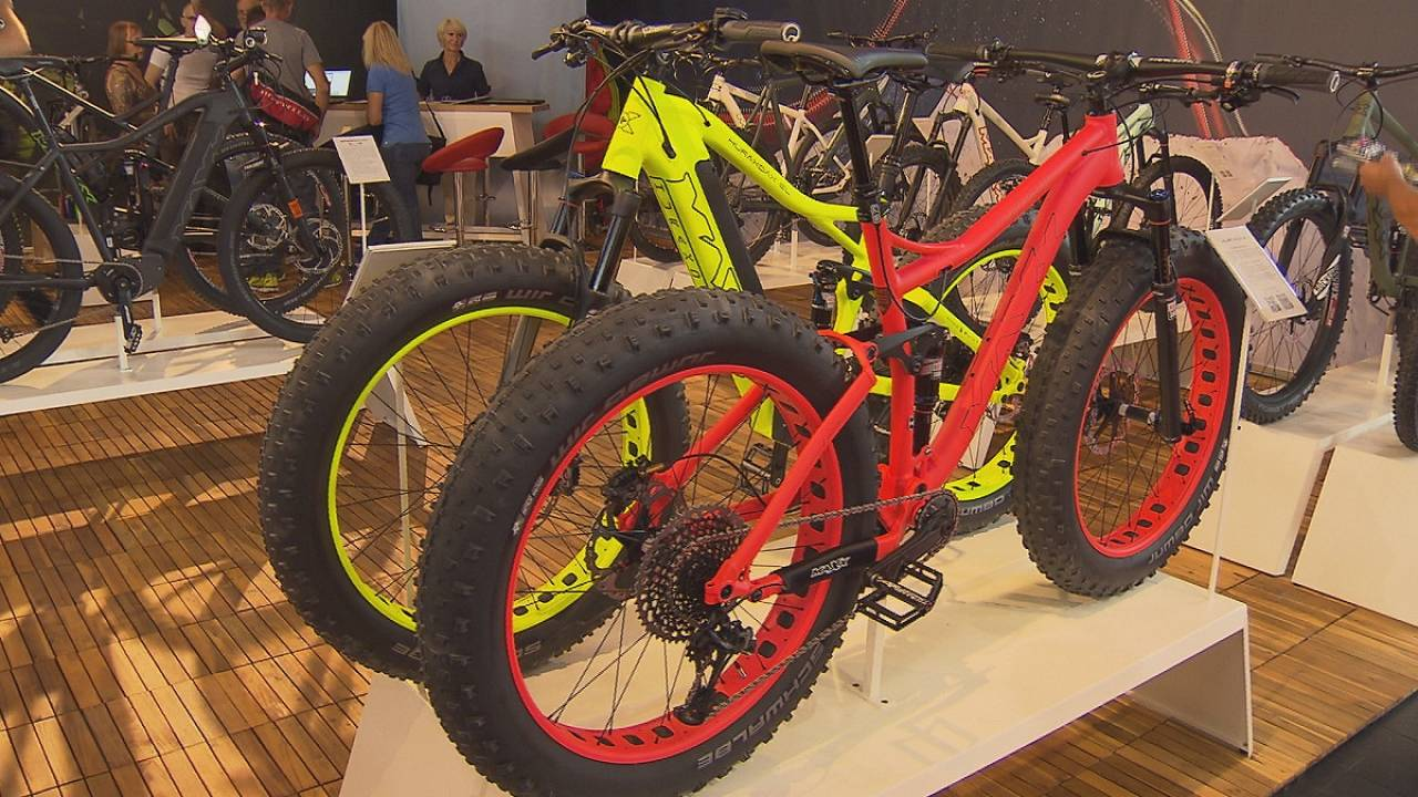 E-bikes sales motor at the Eurobike Fair