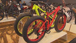 دوچرخه با موتور الکترونیکی در نمایشگاه یورو بایک