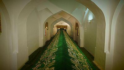 Postcards from Uzbekistan: the Tomb of Saint Daniel
