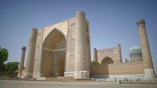 Blickfang in Samarkand: Die Bibi-Khanum-Moschee