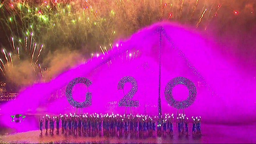 Грандиозное представление для гостей G20