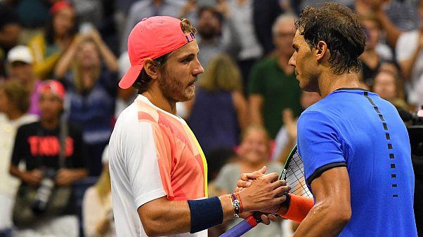 حذف نادال از رقابت های تنیس اوپن آمریکا
