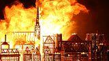 Büyük Londra Yangını dev şehir maketi yakılarak anıldı