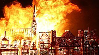مراسم یادبود آتش سوزی ۱۶۶۶ لندن
