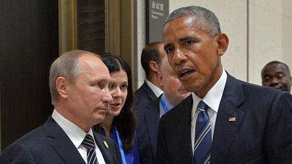 Κίνα: Αισιόδοξος ο Πούτιν, συγκρατημένος ο Ομπάμα για την επίτευξη συμφωνίας για τη Συρία