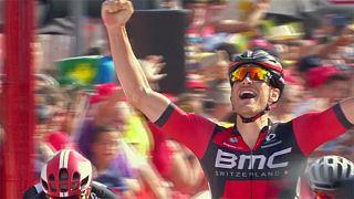فتح شانزدهمین مرحله از تور دوچرخه سواری اسپانیا توسط ژان پیر دروکر