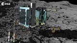 Kuyruklu yıldıza inen kayıp modül Philae bulundu
