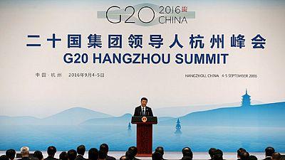 Rideau sur le G20
