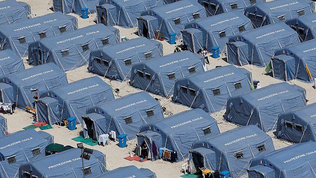 طالب لجوء افغاني أخر ضحايا زلزال ايطاليا