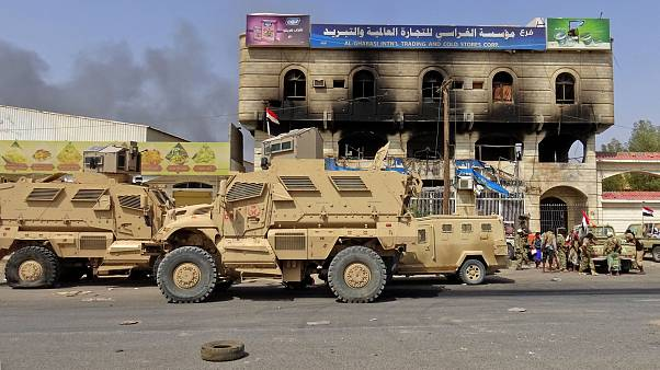 Image: Yemeni pro-government forces