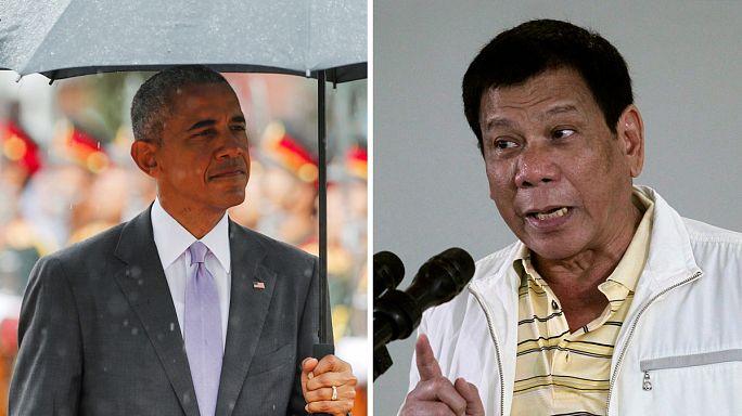 """El presidente de Filipinas pide disculpas a Obama después de llamarle """"hijo de puta"""""""