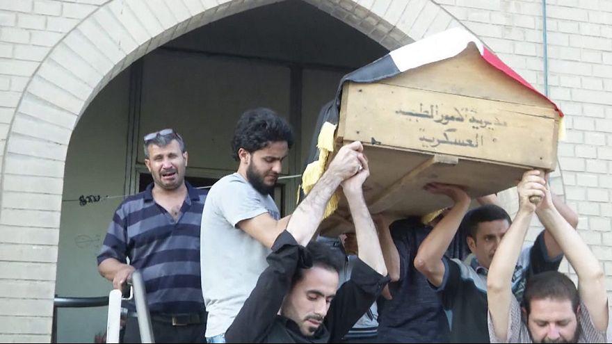Bagdade enterra mortos do último atentado