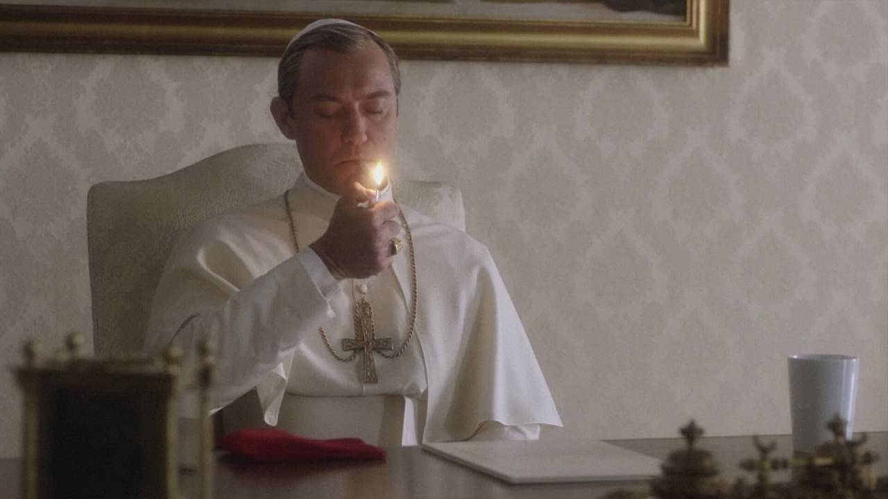 Jude Law stars as an American pope in new HBO series