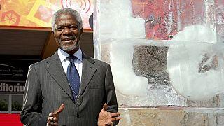 Kofi Annan hué en Birmanie