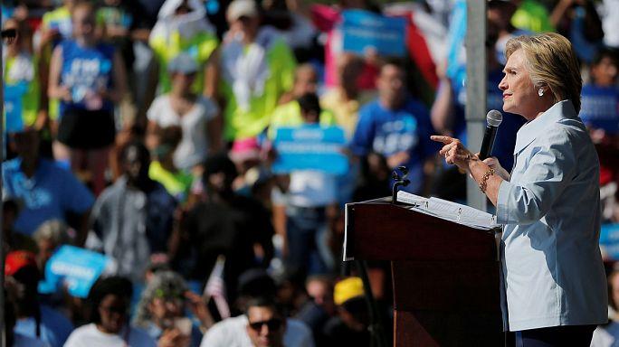 Trump szövetségest találna Putyinban Clinton szerint