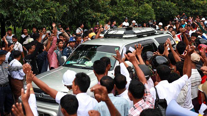 Myanmar: Protestas contra la comisión de Kofi Annan que busca una solución a la crisis de la minoría rohinyá