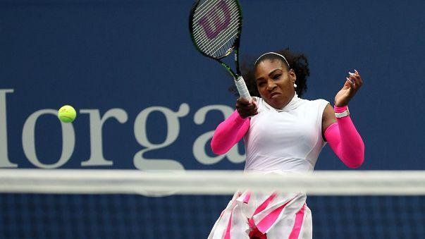 US Open - Serena Williams toppt Roger Federer