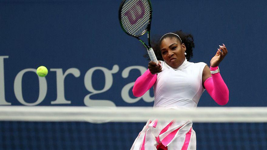 US Open: Serena Williams ai quarti, avanzano anche Murray e Del Potro