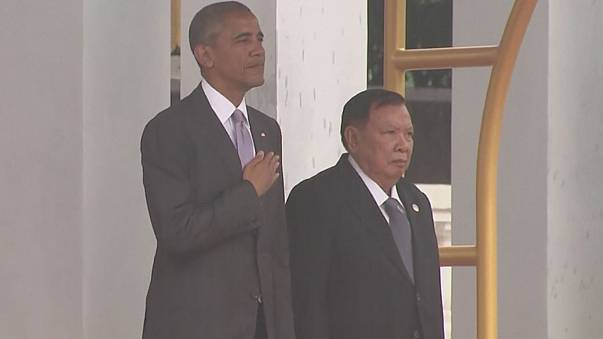 """أوباما يشارك بقمة """"لاوس"""" وسط توتر مع الفيلبين"""