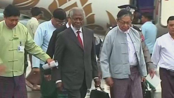 Myanmar: Kofi Annan en misión por la minoría rohinyá, una de las más perseguidas del mundo