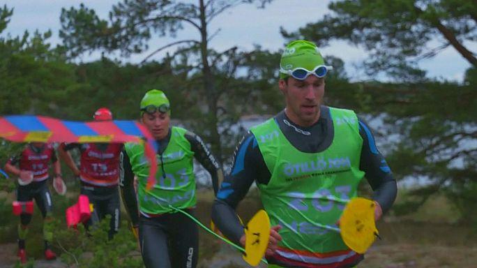 'Splashtacular' Stockholm swimrun stuns with three world records