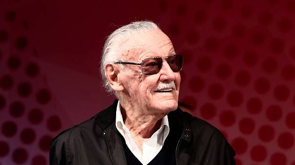 Stan Lee attends the Tokyo Comic Con in Japan in 2016.