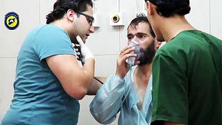 Syrische Regierungstruppen sollen Aleppo mit Giftgas angegriffen haben