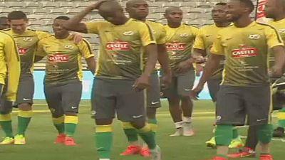 L'Afrique du Sud se prépare pour les éliminatoires de la coupe du monde FIFA 2018