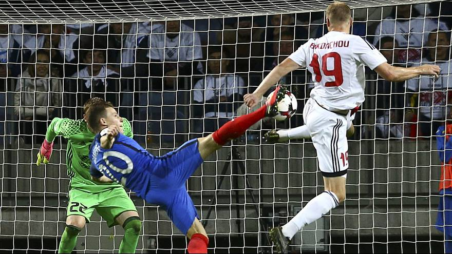 Suiza bate a Portugal (2-0), Francia sin puntería en Bielorrusia (0-0)