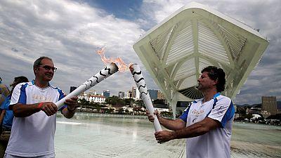La torche paralympique est arrivé à Rio ce mardi