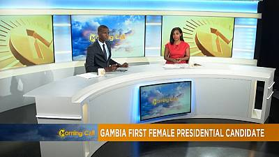 First female candidate to challenge Yahya Jammeh [The Morning Call]