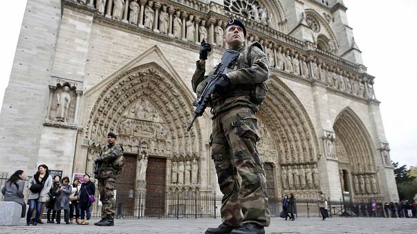 Car containing gas cylinders found in Paris belonged to man on terror watchlist