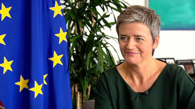 مفوضة شؤون المنافسة بالإتحاد الأوروبي مارغريت فيستاجر في حوار مع يورونيوز