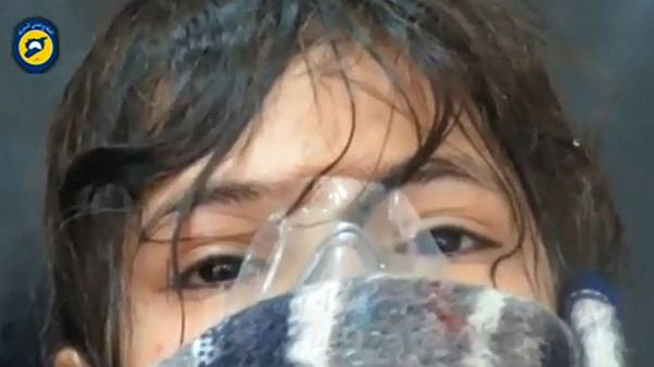 Dozens ill after alleged Syrian government chlorine attack on Aleppo