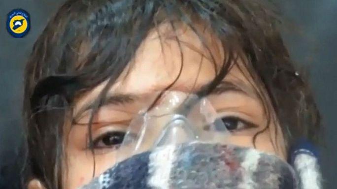 Gáztámadás tünetei jelentkeztek a szenvedőkön Aleppóban