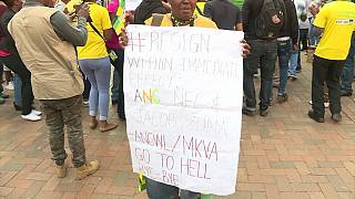 South Africa: Rival ANC factions face off in Johannesburg [no comment]