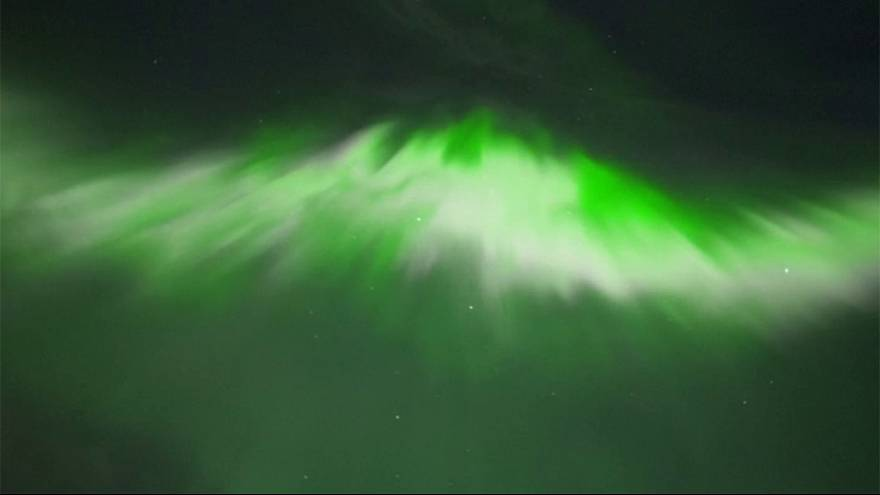 Another spectacular Northern Lights display over Finland
