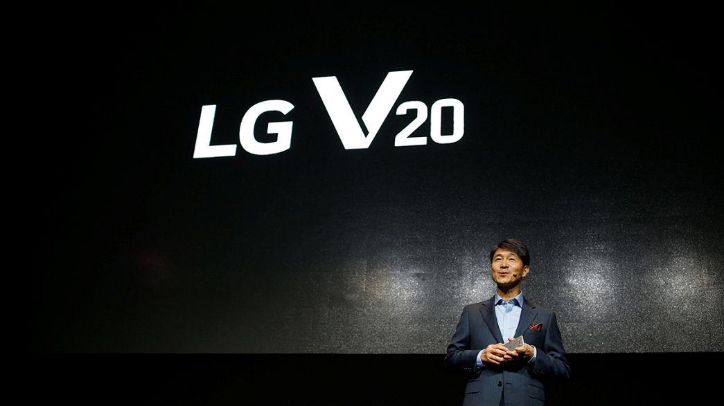 Смартмарафон: LG Electronics представляет новый смартфон V20