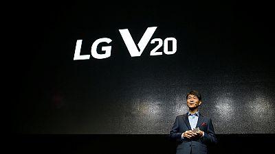 LG stellt neues Smartphone V20 vor