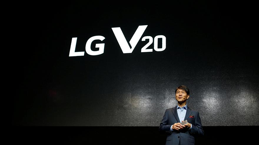 LG Electronics seeks to revive mobile fortunes with V20 smartphone