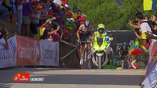 Mathias Frank gana en el Mas de la Costa, Quintana sigue líder