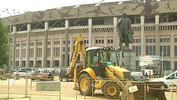 ملعب لوجنيكي في موسكو سيكون جاهزا في الموعد المحدد لاستضافة مونديال 2018