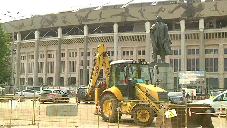 Rússia2018: Um estádio de €262M quase pronto e outro de €500M a preocupar