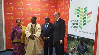 Nigerian wins $100,000 'Africa Food Prize' award
