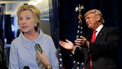 Clinton e Trump num fórum televisivo com sabor a debate